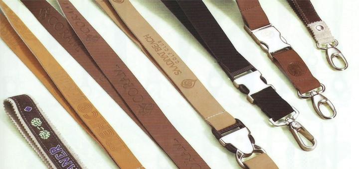 Leather lanyards