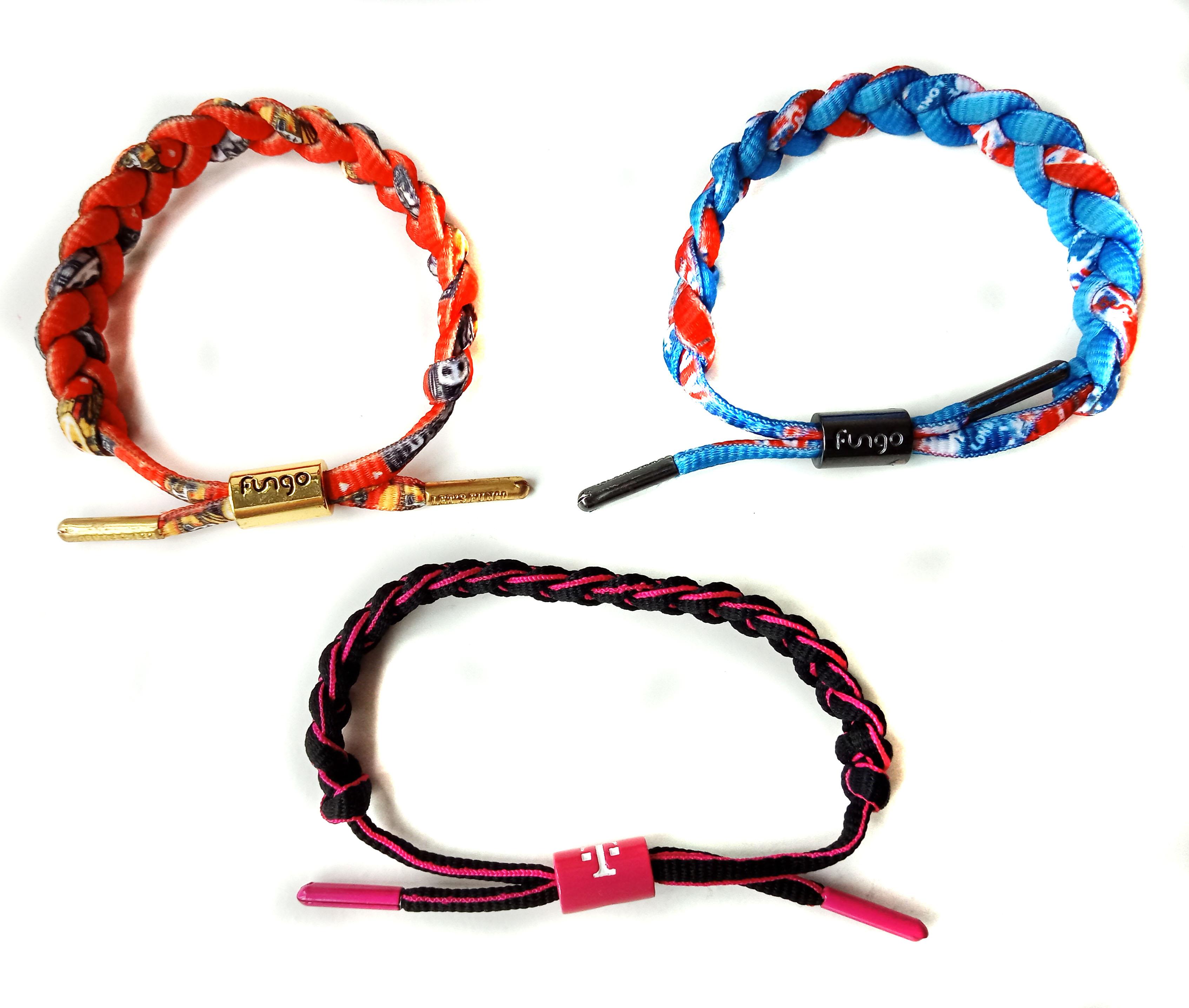 Braid wrist bracelets
